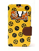 Fonokase Case for Samsung Galaxy S DUOS & DUOS 2 Fancy Flip Type Yellow Color