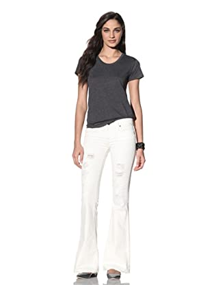 Workcustom Women's Gidget Flare Jeans (Natural Destroy)