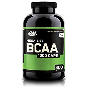 Optimum Nutrition (ON) BCAA 1000 mg - 400 Capsules
