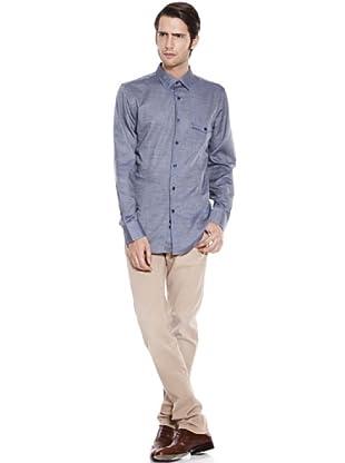 Caramelo Camisa (Azul)