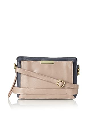 co-lab by Christopher Kon Women's Willow Cross-Body, Navy/Taupe