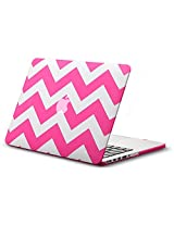 "Kuzy Chevron Rubberized Hard Case for MacBook Pro 13.3"" with Retina Display A..."