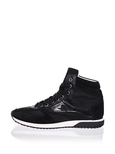Antony Morato Men's High Top Sneaker (Black)