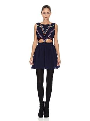 RARE Vestido Stud (Azul Marino)
