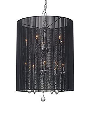 Zuo Whitney Ceiling Lamp, Black