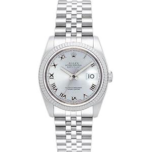 【クリックで詳細表示】[ロレックス] ROLEX 腕時計 デイトジャスト 116234 グレー ローマ メンズ [並行輸入品]: 腕時計通販