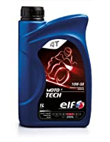 Elf Moto 4 Tech 10w50 Synthetic Technology Motorcycle Engine Oil 1 Litre