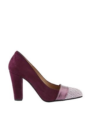 Renatta Zapatos Salón Puntera (Malva)