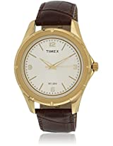 Ti000v90100 Brown/Champagne Analog Watch