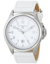 Swiss Legend Men's 30331-02-WS Pioneer Analog Display Swiss Quartz White Watch