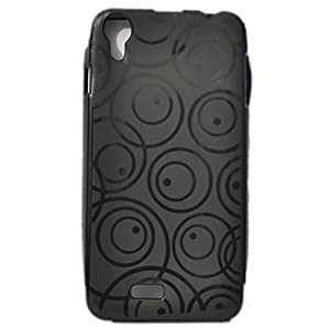 iBall Andi 4.5 Enigma Soft Back Case Cover Back Cover Royal Black-ECellStreet