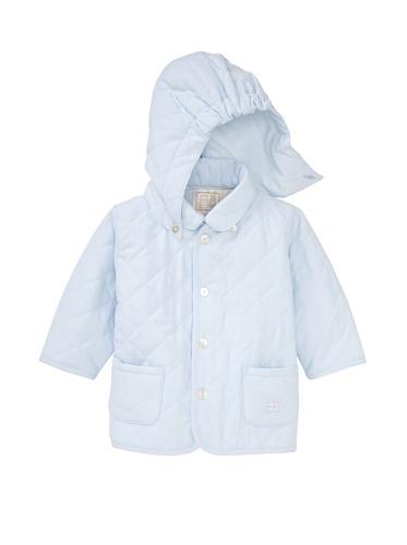 Emile et Rose Baby Boy's Detachable Hood Jacket (Blue)