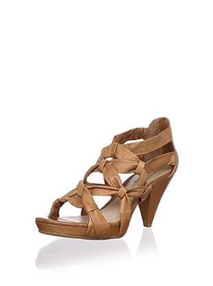Schutz Women's Cone Heel Sandal (Biscuit)