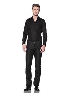 Versace Collection Men's City Fit Jean (Black)