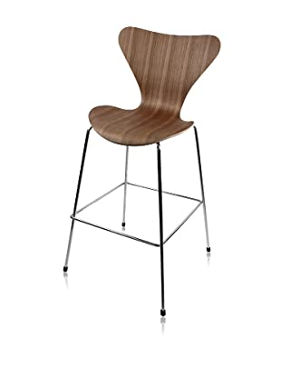 Control Brand Monroe Bar Stool, Walnut