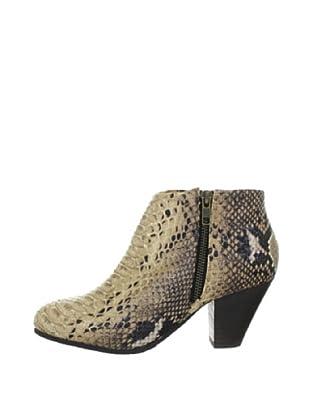 Buffalo London 111-4621 SNAKE PU 127809 - Botines fashion para mujer (Beige)
