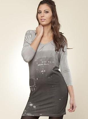 Ikks Vestido (gris)