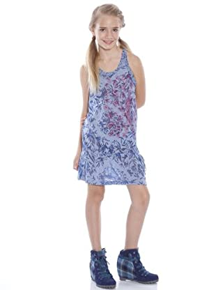 Custo Vestido Daini Volaille (azul oscuro)