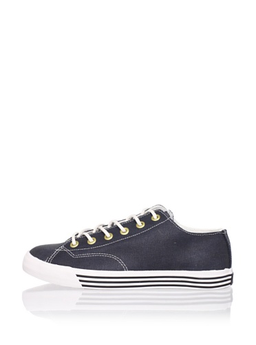 PRO-Keds Men's 69er Lo Oiled Canvas Sneaker (Navy)