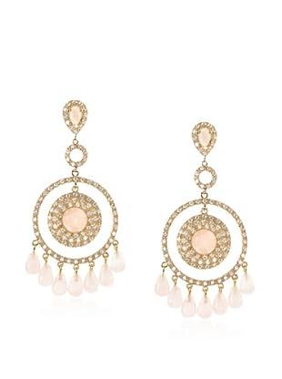 Belargo Bedazzled Circle Earrings