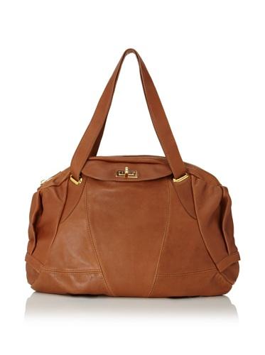 CC Skye Women's Sage Shoulder Bag (Saddle Brown)