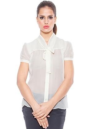 Ungaro Blusa Seda (Blanco)