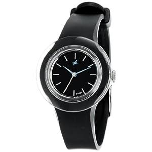 Fastrack NE789PP01 Women's Wrist Watch-Black