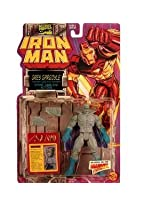 Grey Gargoyle with Stone Hurling Action! - Marvel Comics Iron Man Action Figure