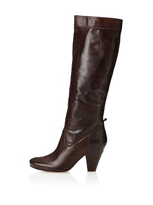 CNC Costume National Women's High Heel Boot (Dark Brown)