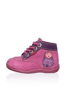 Kickers Kid's Bibouchka Shoe (Fuchsia)