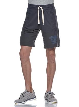 Freddy Pantalón Fitness Corto (Gris / Azul)