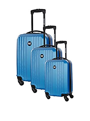 Bag Stone Set de 3 trolleys rígidos Star