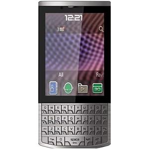 Karbonn A100 (Touch & Type, Dual SIM, Grey-Black)