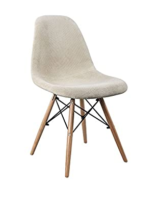 LO+DEMODA Stuhl 2er Set Wooden Fabric Edition