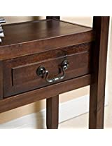 Best Selling Grenadier Acacia Wood Accent Table, Brown