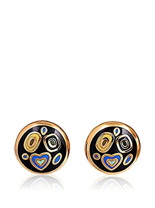 ROSE SALOME JEWELS Ohrringe GE011L vergoldeter Stahl 18 Karat