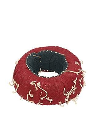 Uptown Down Found Indian Head Cushion