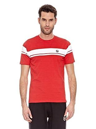 Sergio Tacchini Camiseta Manga Corta Young Line Camiseta Manga Corta Young Line (Rojo)