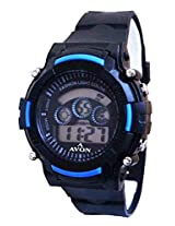 A Avon Sports Digital Black Dial Men's watch - 1002006