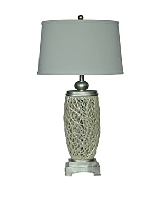 Greenwich Lighting Seafoam Table Lamp, Opal Cream