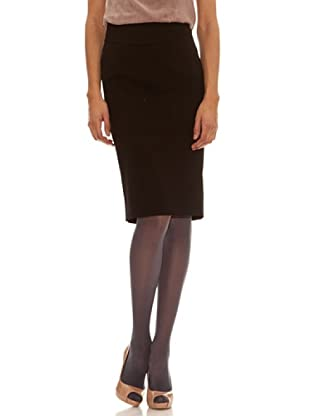 Trussardi Falda Corte Estrecho (negro)