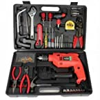 True Star 102 pcs. Multipurpose Toolkit with Powerful Drill Machine