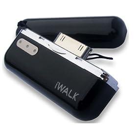 プロテック iWALK モバイルバッテリー for iPhone&iPod PIB-800BK ブラック