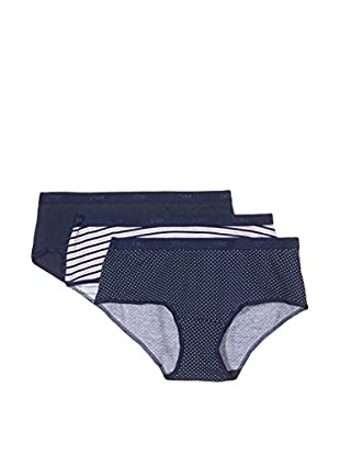 Dim 3tlg. Set Panties Trousse Pocket