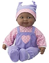 JC Toys African American Lots to Cuddle Baby Doll