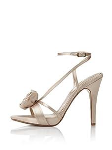 MaxStudio Women's Erbay Platform Sandal (Beige)