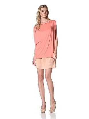 Susana Monaco Women's Giana Shirt (Fire Coral)