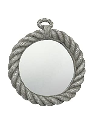 Three Hands Resin Rope Wall Mirror
