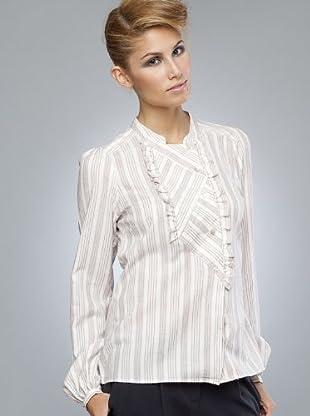 Armand Basi Camisa Seia (blanco / gris)