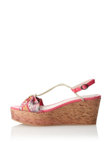 Plenty by Tracy Reese Women's Preston Platform Sandal (Rose)
